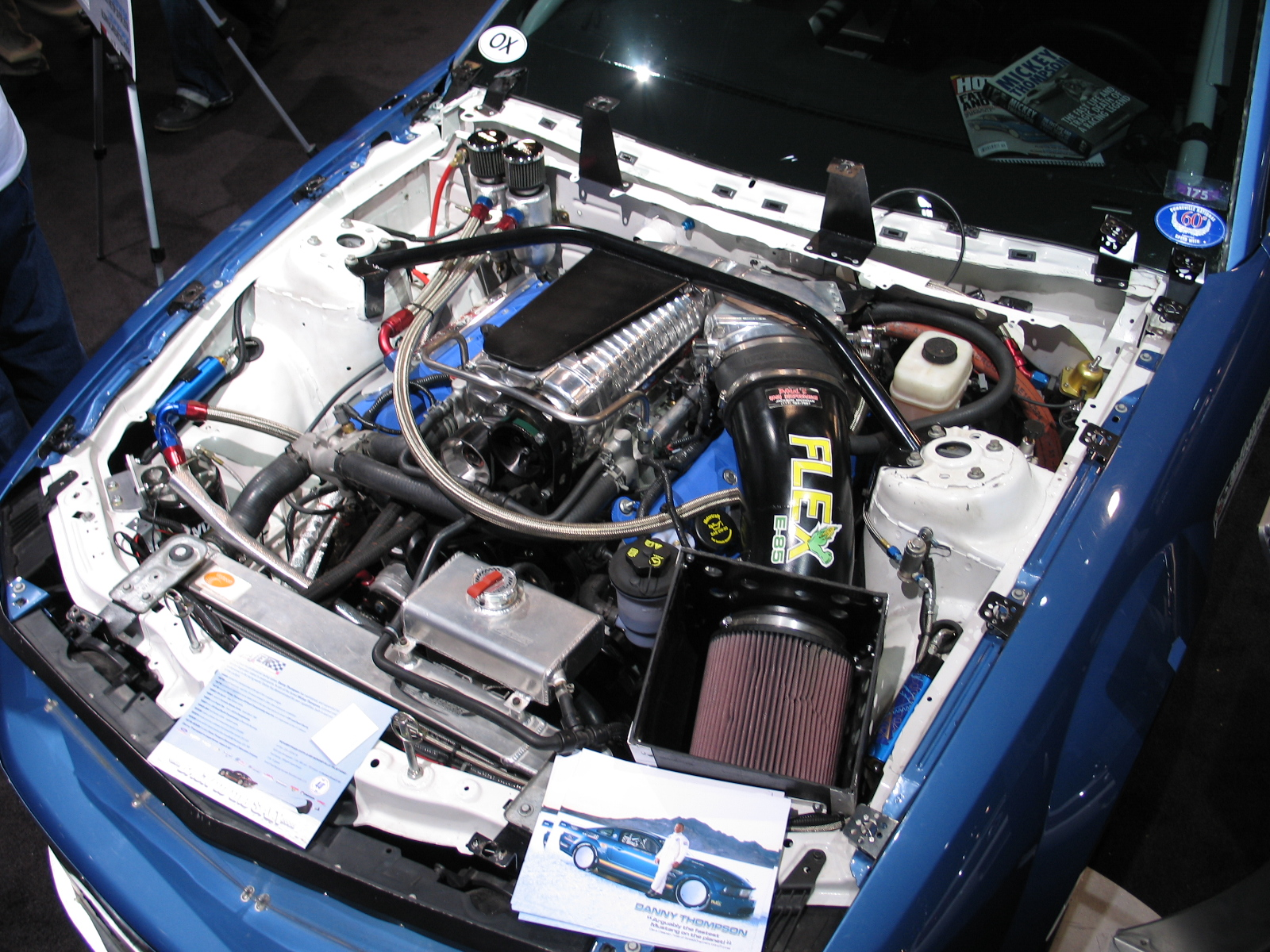 lsr-mustang-engine